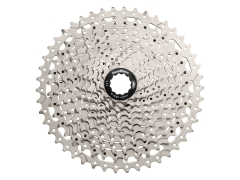 Касета 11шв. 11-46T SUN RACE MS8 MTB, Metallic Silver