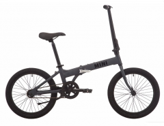 "Велосипед 20"" Pride MINI 1 dark grey 2019"