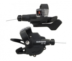 Манетки Sram 09A SL X.4 TRIGGER SET 8SP R INDEX F