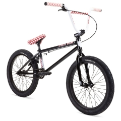 "Велосипед BMX 20"" Stolen STEREO (2021) BLACK W/ FAST TIMES RED"